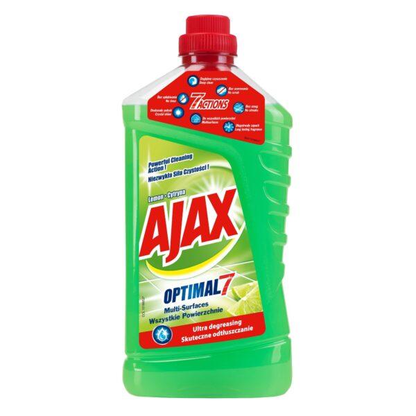 AJAX Optimal 7 Üldpuhastusvahend Lemon 1l