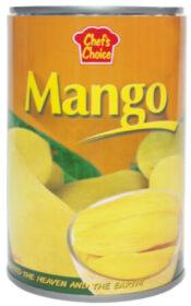 CHEF'S CHOICE Mango siirupis 420g