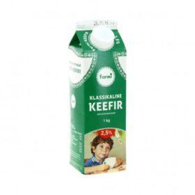 FARMI Keefir Klassikaline 2,5% 1kg (pure)