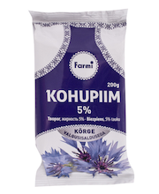 FARMI Kohupiim 5% 200g (foolium)