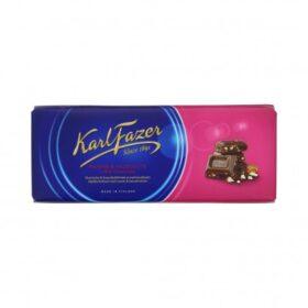 FAZER Karl Fazer piimašokolaad, pähkli rosinaga 200g