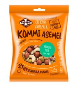 Snäkk, KOMMI ASEMEL Pähklite mix 100g